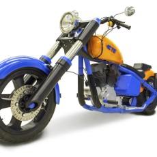 3D Printed Harley Davidson!