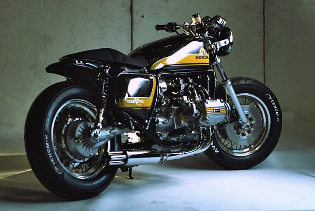Metric Bobbers Cafe Racers By Docs Chops also Yamaha Xs750 Caferacer as well Vfr750f Exhaust  plete Stainless Steel furthermore 1978 Honda Gl1000 Goldwing Street Tracker likewise 79 Xs750 Special 4480. on 79 yamaha 750 special
