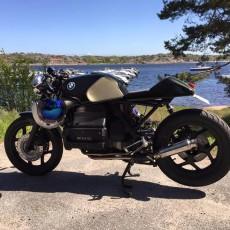 """Stig Frydenberg's BMW K100: """"Optimus"""""""