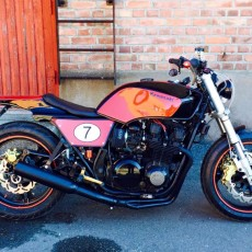 "Kawasaki GPz750 Tracker, ""The Ghost Ninja"""