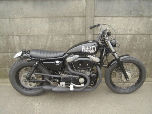 XLH 1200 Sportster by Brat Style Japan