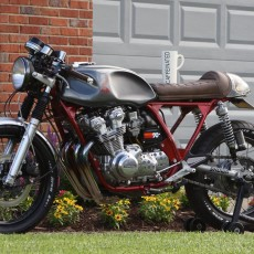 Garage-Built Honda CB750K Cafe Racer