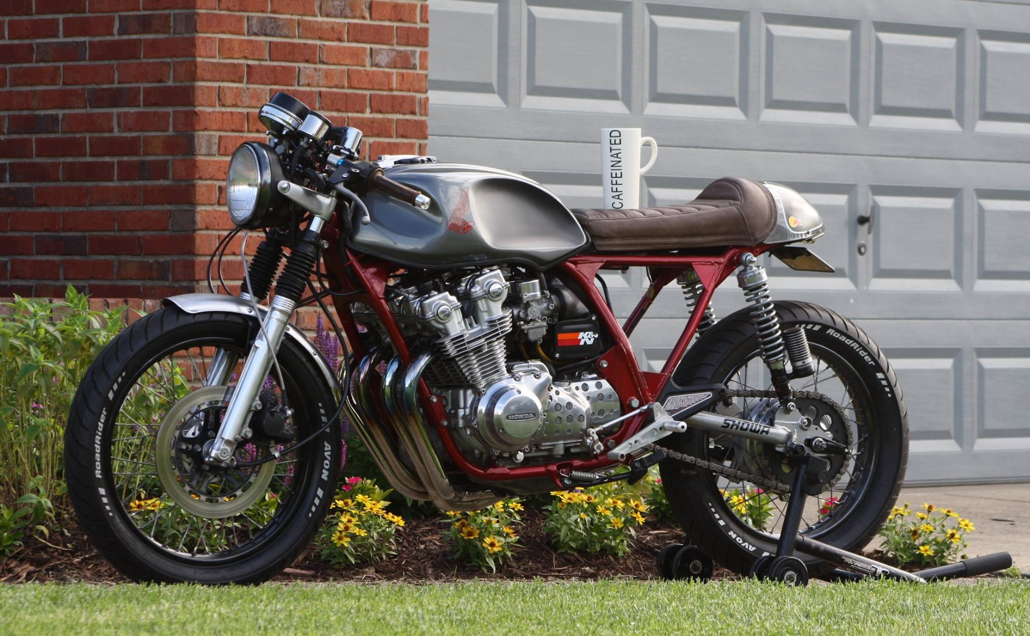 Extrêmement Garage-Built Honda CB750K Cafe Racer – BikeBound KK42