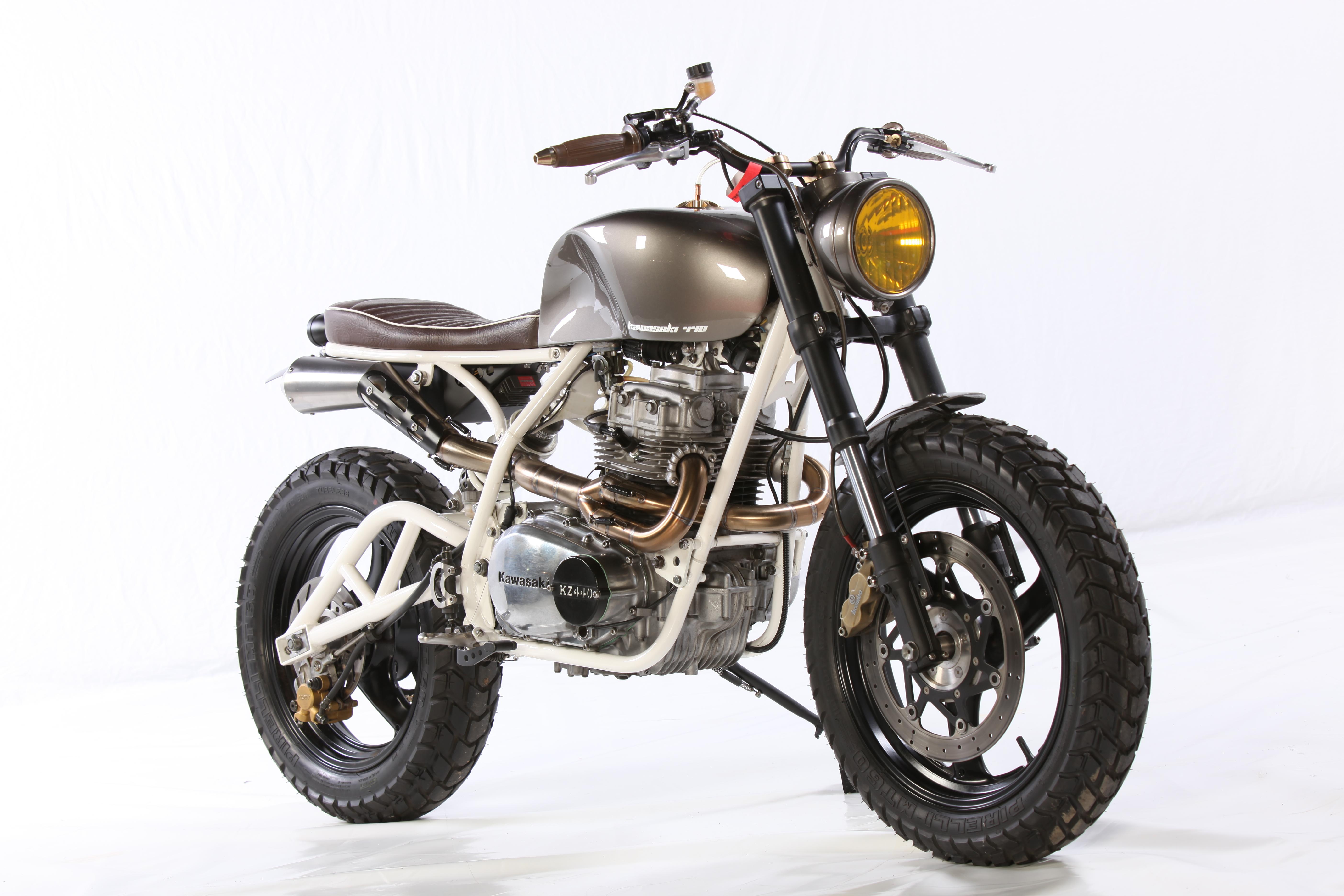 KZ400 Scrambler