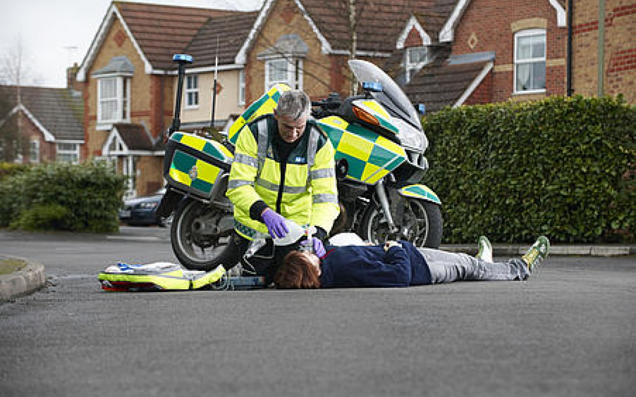 Motorcycle-Paramedic