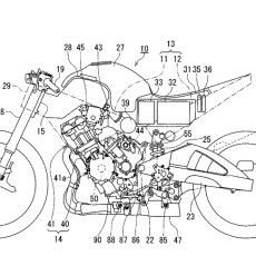 Suzuki Patents Hybrid Motorcycle