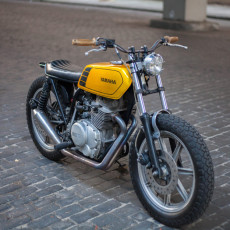 Faves:  1977 Yamaha XS400 Tracker