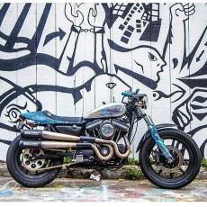 Sportster Street Tracker by Wes Nobles