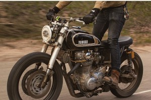 Three Pence XS650 Tracker Scrambler