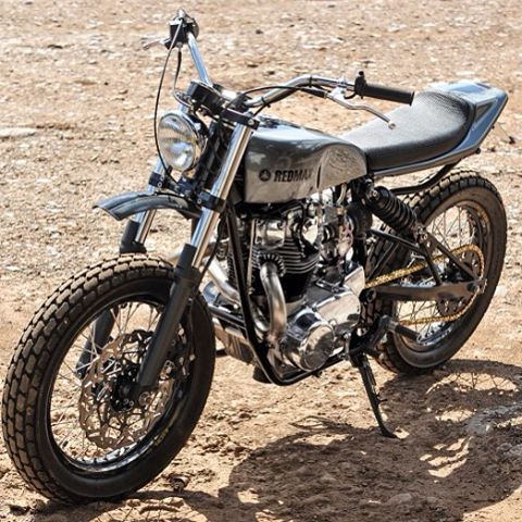 XS650-Powered Tracker by Red Max Speed Shop