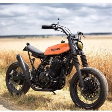 Suzuki DR650 Tracker by Le French Atelier