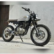 KLX150 Scrambler by D-I Motorsport