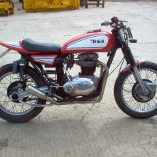 1972 BSA Thunderbolt Custom Hill Climber