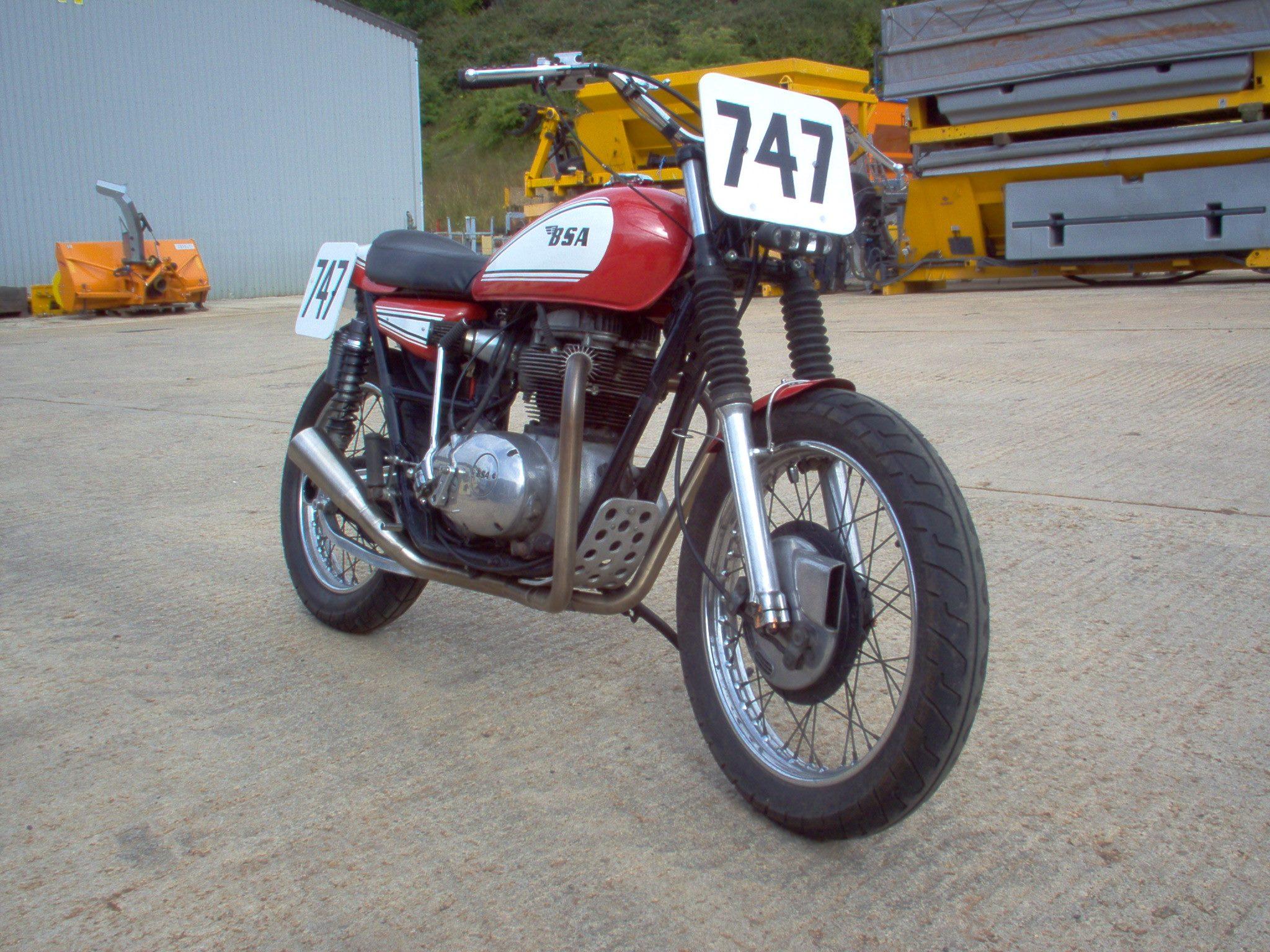 BSA Thunderbolt Custom 3 1972 bsa thunderbolt custom hill climber bikebound BSA A65 Engine at suagrazia.org