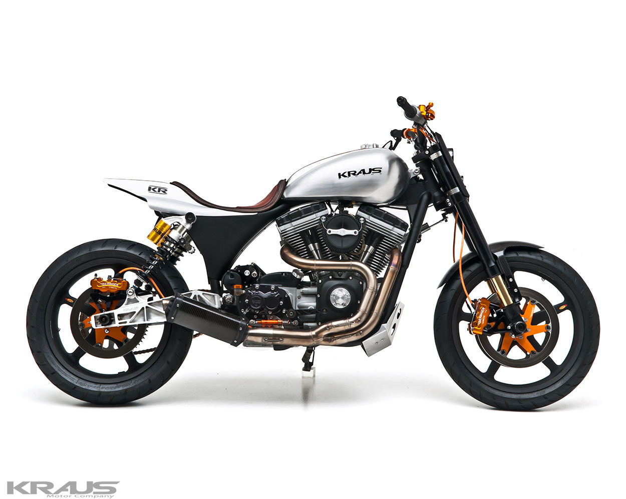Custom Harley Davidson Dyna By Kraus: Dyna Street Tracker By Kraus Motor Co.