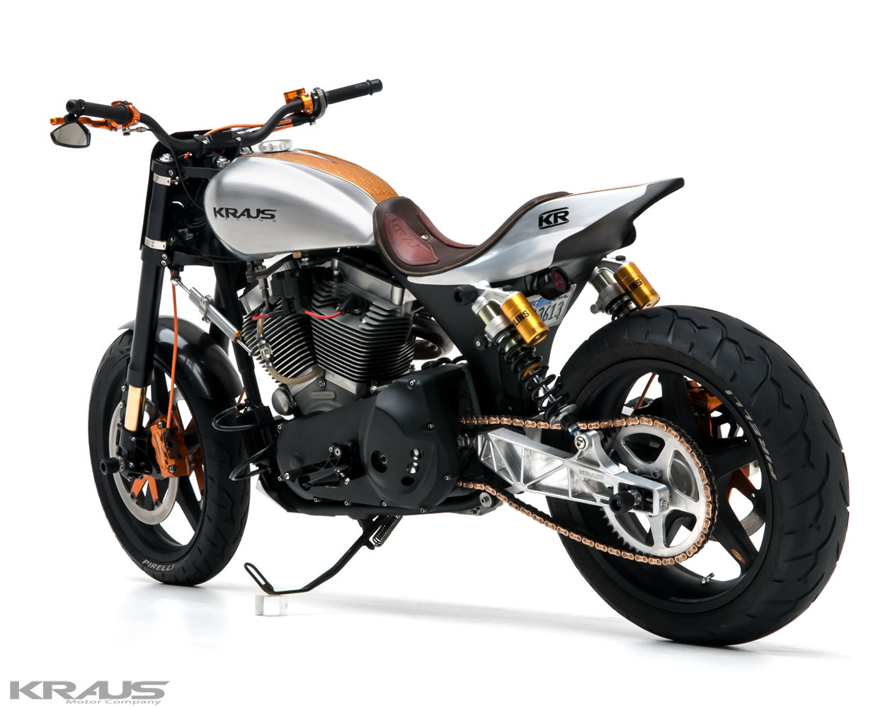 Dyna Street Tracker By Kraus Motor Co BikeBound