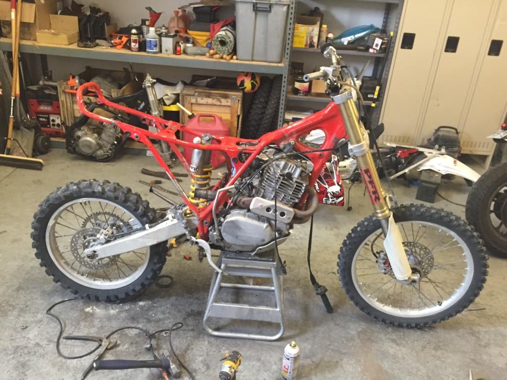 Honda Xr 70 Dirt Bike