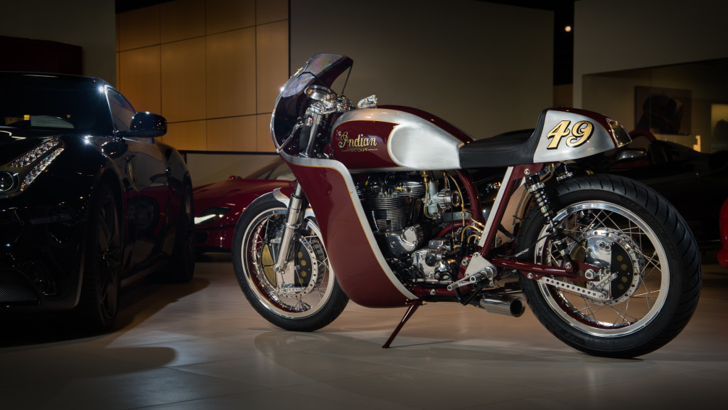 Indian Scout Cafe Racer