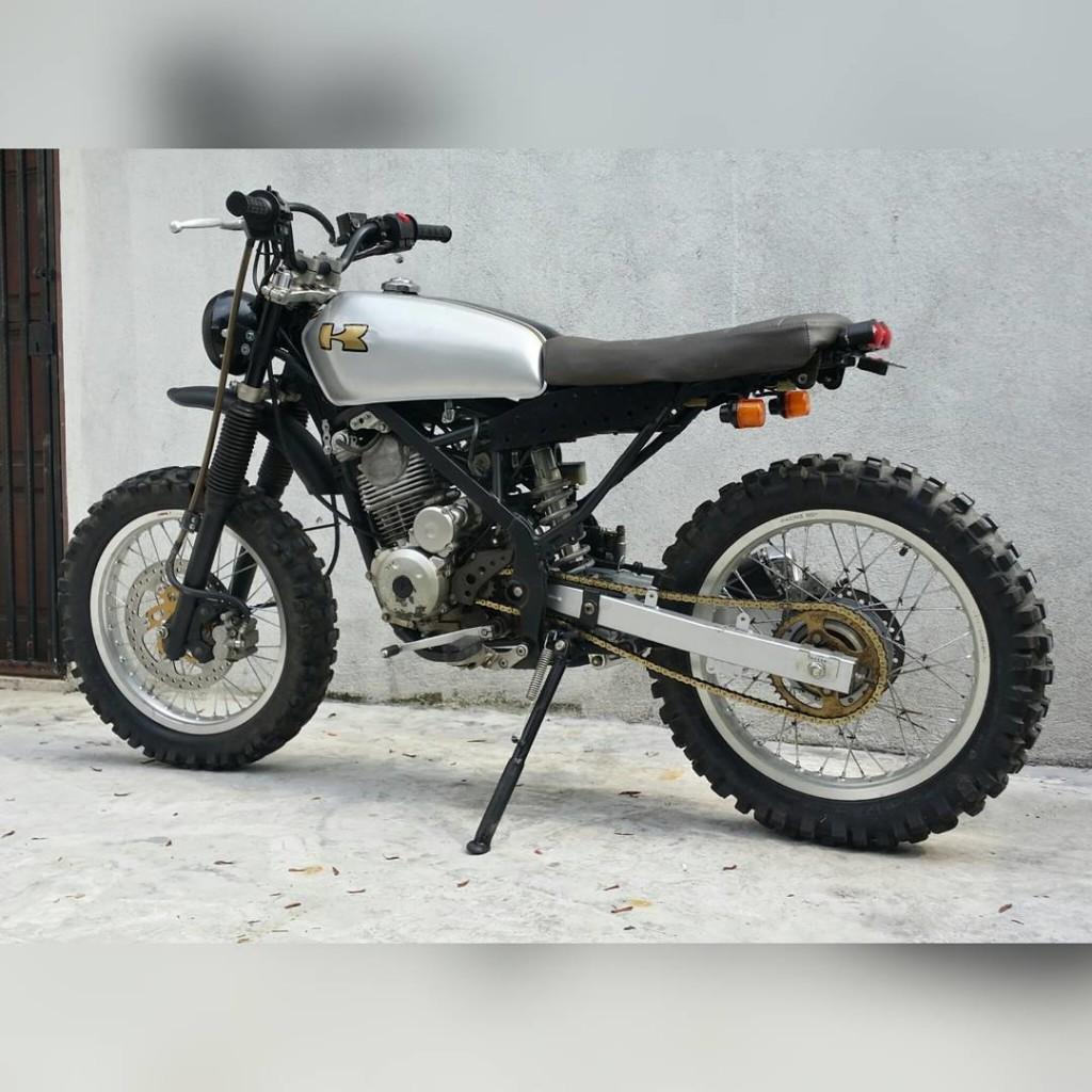 KLX150 Scrambler