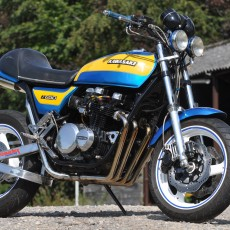 Kawasaki Z650 Custom by Darren Carter