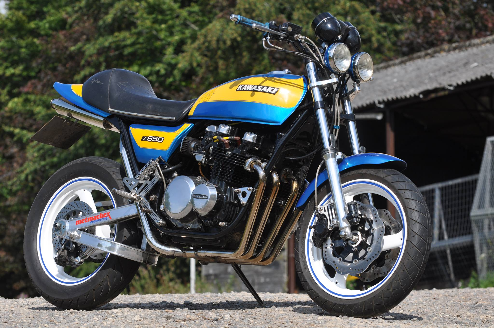 Kawasaki Z650 Custom by Darren Carter – BikeBound