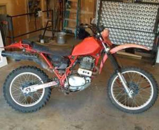 1982 honda xr500r tracker bikebound rh bikebound com Honda XR500 Performance 1982 Honda XR500 Parts
