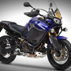 The Yamaha Super Tenere Adventure Bike