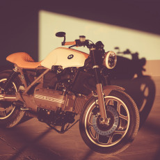 BMW K100 Cafe Racer by Z17 Customs
