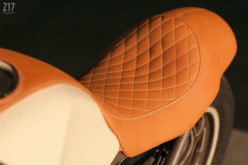 BMW K100 Cafe Racer Seat