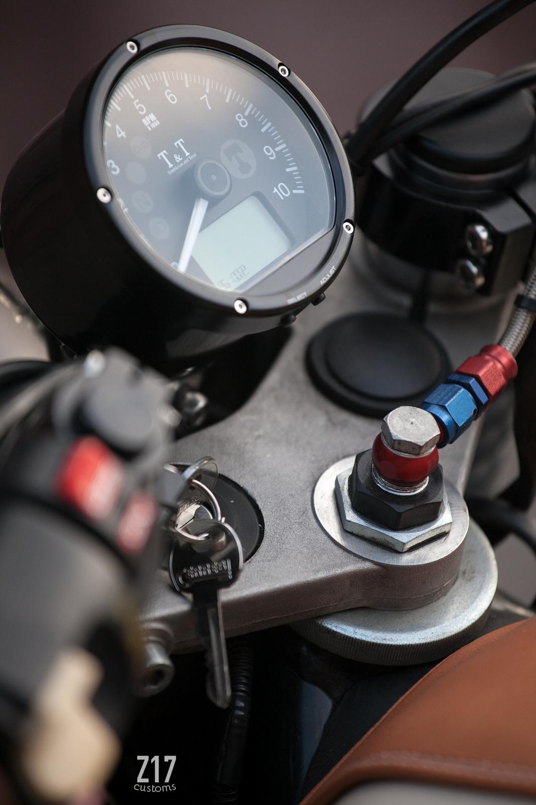 Bmw K100 Cafe Racer By Z17 Customs Bikebound