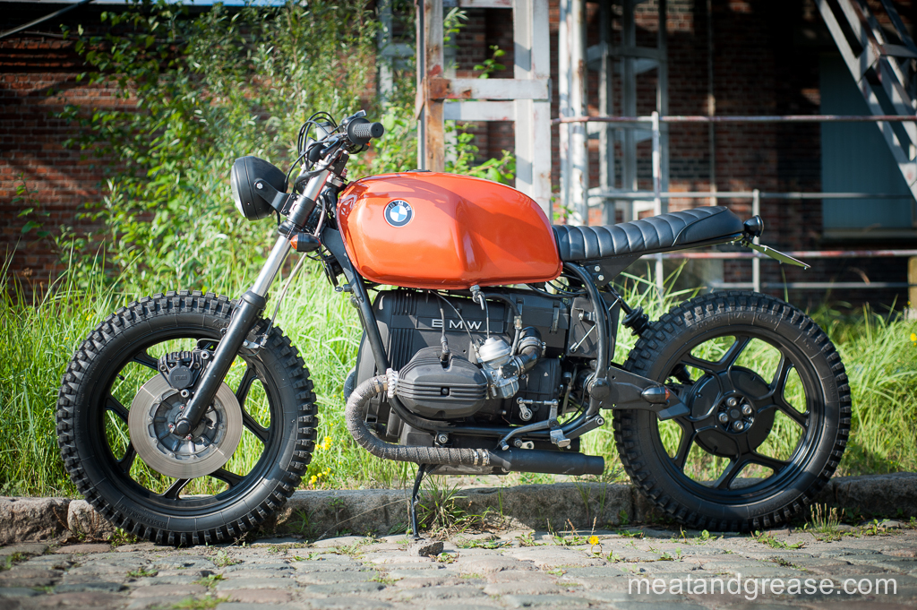 Bmw R65 Scrambler By Meat And Grease Bikebound