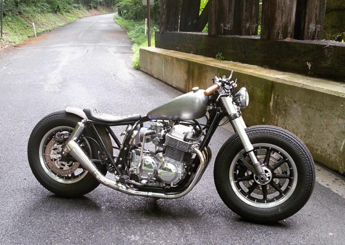 Honda CB750 Bratstyle By Mark Alderfer