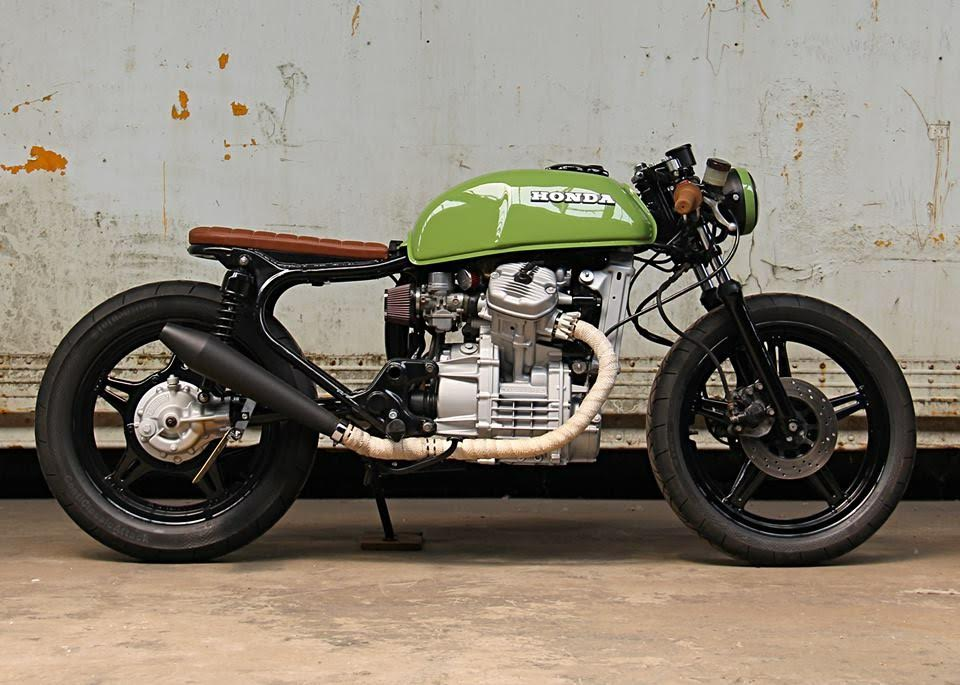 Honda Cx500 Cafe Racer By Ironwood Motorcycles Bikebound