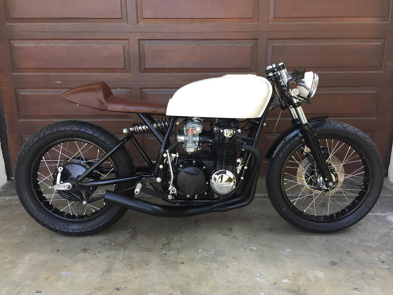 Mono Shock Cb550 Cafe Racer By Alchemy Motorcycles on honda cb550 battery