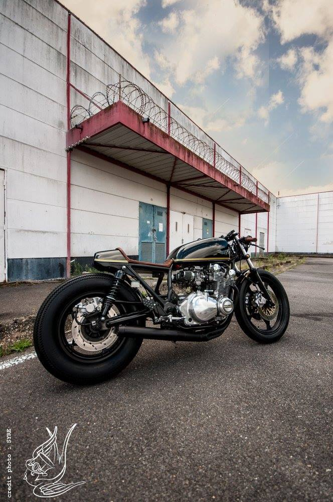 Suzuki GS850 Cafe Racer by Mr  Swallow Customs – BikeBound