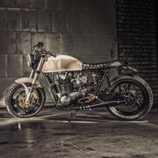 Yamaha XS650 Scrambler by Ironwood Motorcycles
