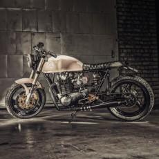 Yamaha XS650 Scrambler by Ironwood Motorcycles