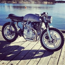 Honda CX500 Brat Cafe by Therapy Moto
