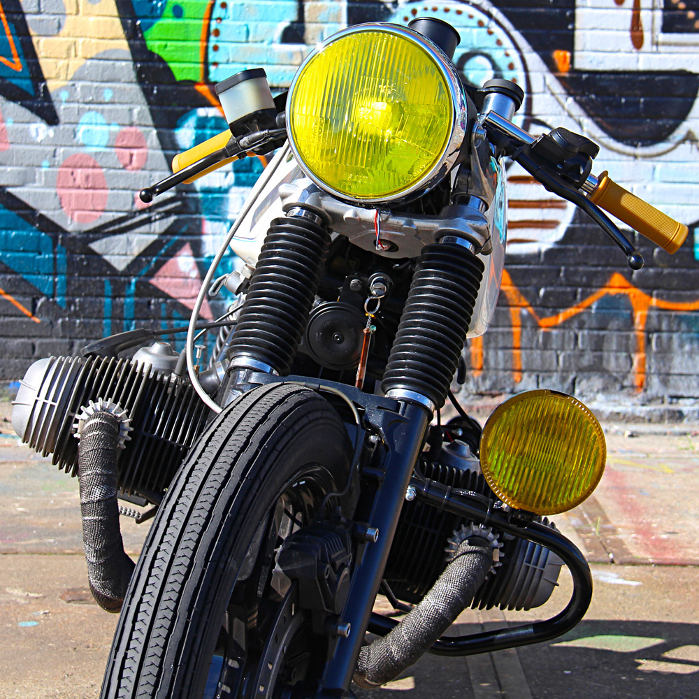 1983 BMW R100 Cafe Racer by Ironwood Motorcycles  BikeBound