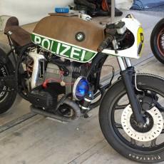 VTR Custom's R80: World's Fastest Police Bike?