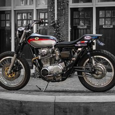 XS650 Street Tracker by Michel van Rossen