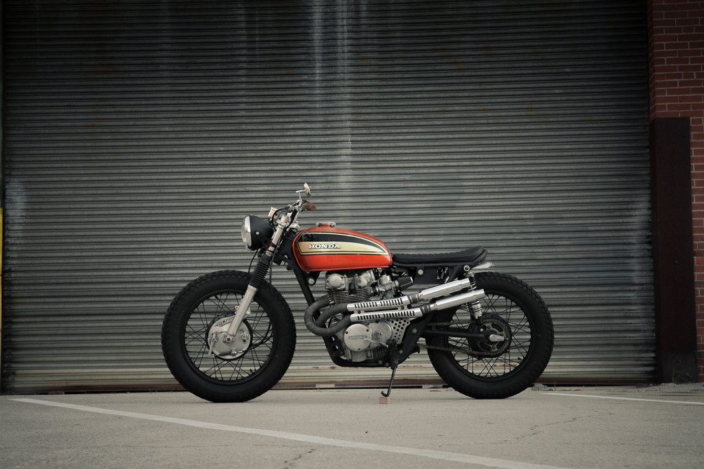 Honda CL450 Scrambler by Redeemed Cycles