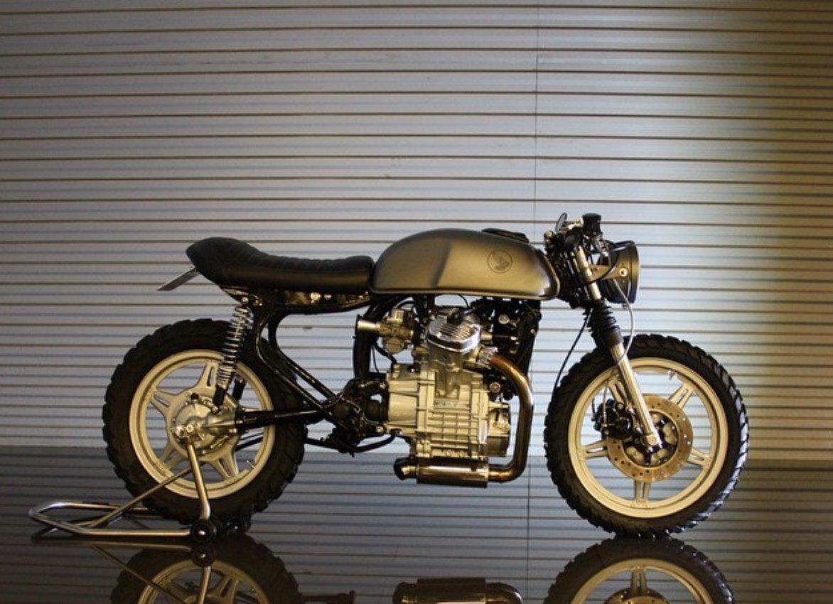 Honda CX500 Brat Cafe By Therapy Moto BikeBound