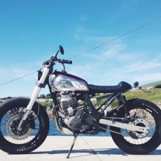 Honda NX650 Tracker by BIM Motos