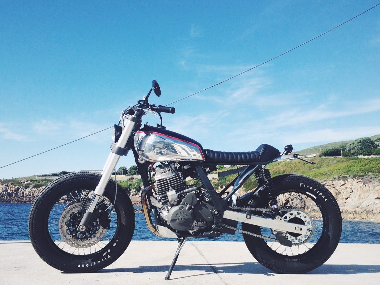 NX650 Tracker by Is Not a Crime