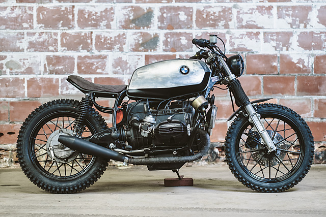 bmw r65 scrambler by moto adonis bikebound. Black Bedroom Furniture Sets. Home Design Ideas