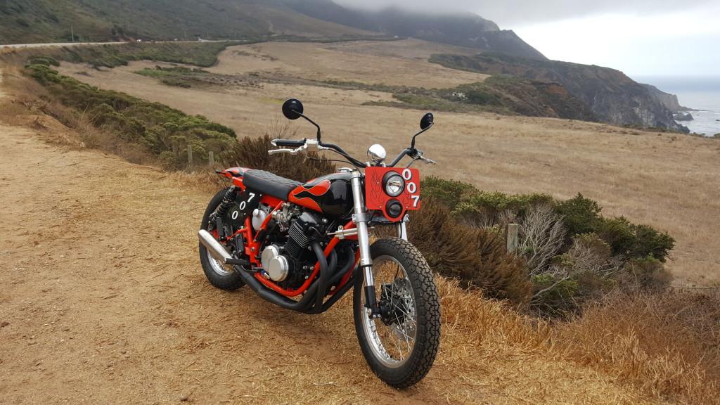 Honda CB750 Street Tracker