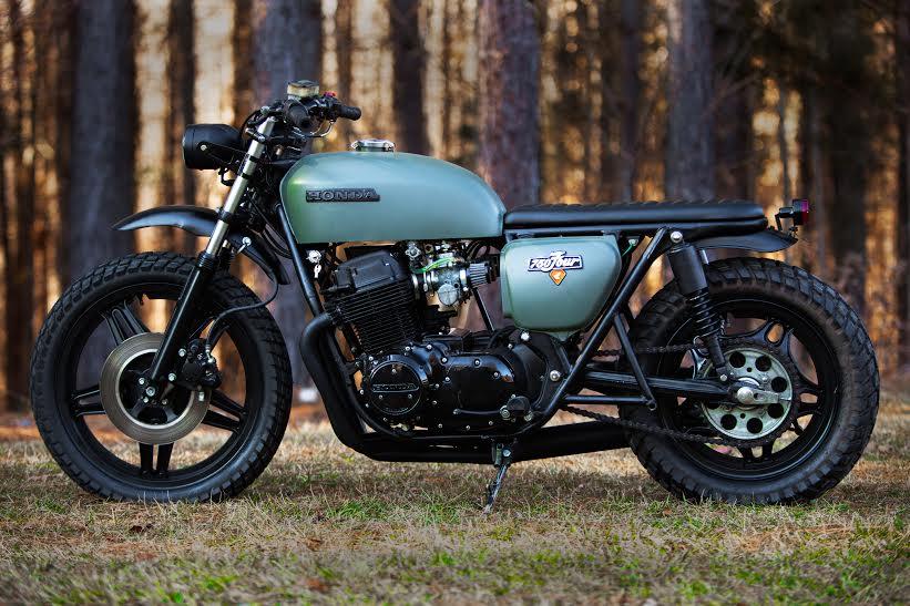 Honda CB750 Tracker
