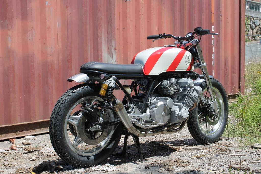 Honda CBX Brat Style