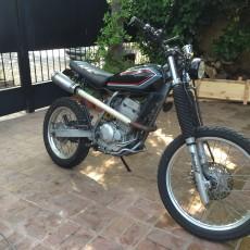 Honda XR250 Tracker from Argentina